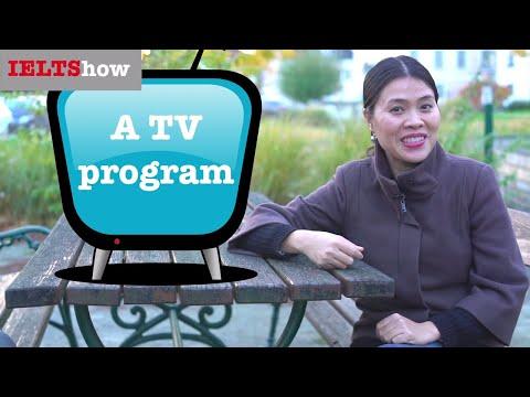 IELTS: A TV Program/ Series [Luyện thi IELTS Speaking 8.5]