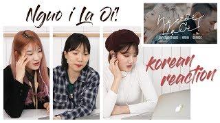 NGười Hàn Reaction #01   Người Lạ Ơi ! Official MV   Superbrothers x Karik x Orange   DAL korean