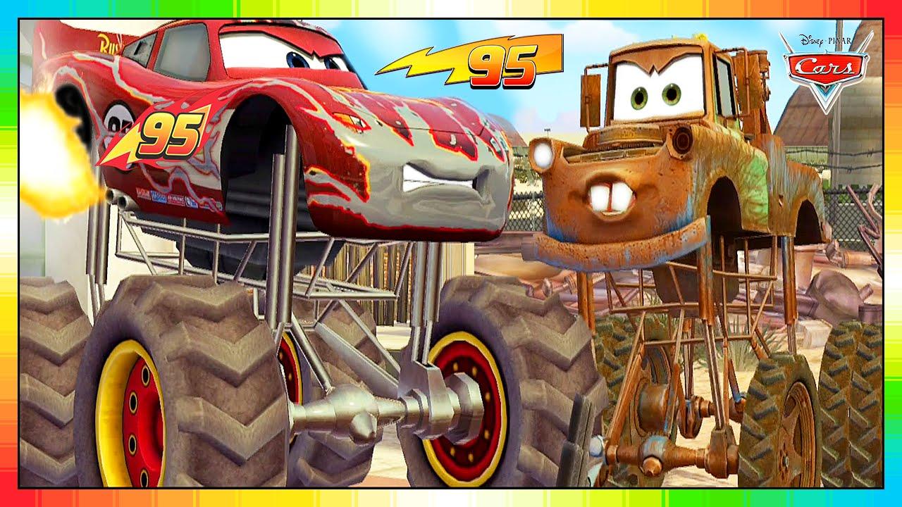 CARS 3 2 1 - ENGLISH - MINI FILM --- 6 of 6 --- Lightning McQueen & Mater