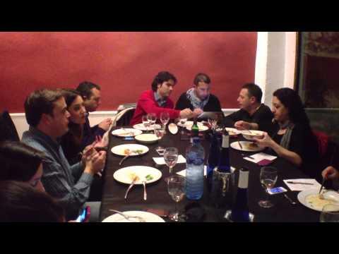 8/11 Blogtrip #Valenciaterraimar. Cena Restaurante Al Mar, Gandía - 25/04/2013