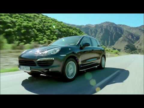 All new Porsche Cayenne 2011 Driving