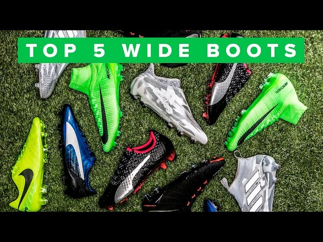 football boots for wide feet uk