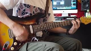 ガルデモのリードギターをコピーしました、動画編集やコピーが雑ですが...