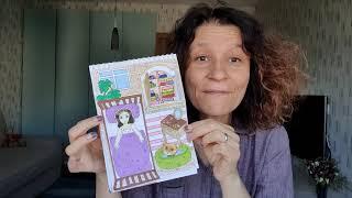 Мастер-класс «Домик для бумажной куклы» 6+
