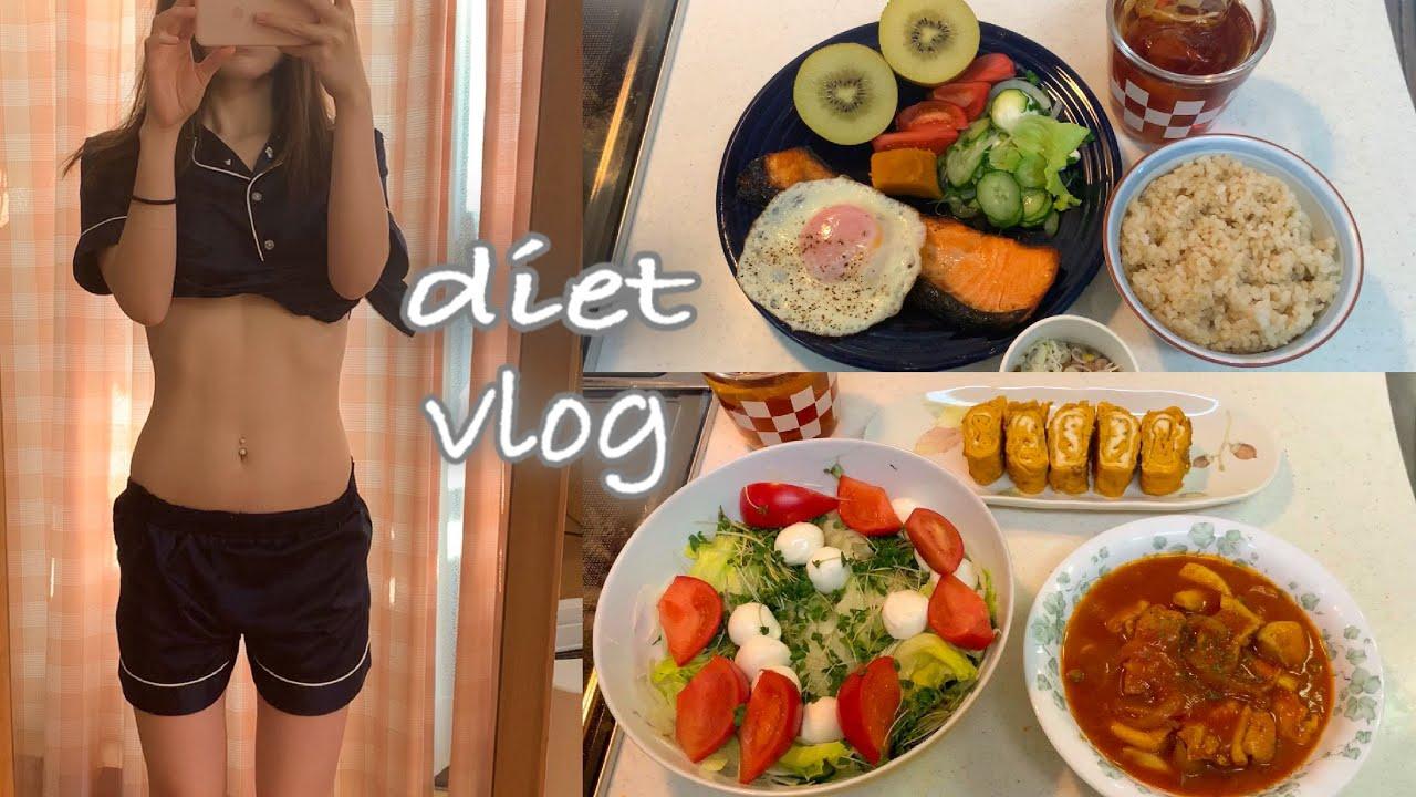 【ダイエット】14キロ痩せた私のダイエット中の食事!しっかり食べて痩せるvlog