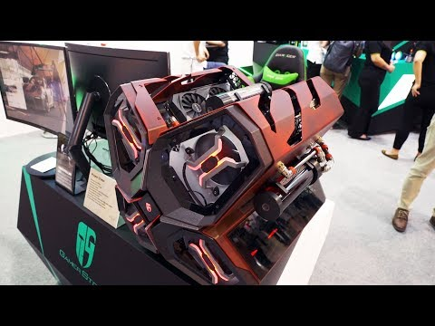 Custom Systems and Other Cool Stuff! - COMPUTEX 2018