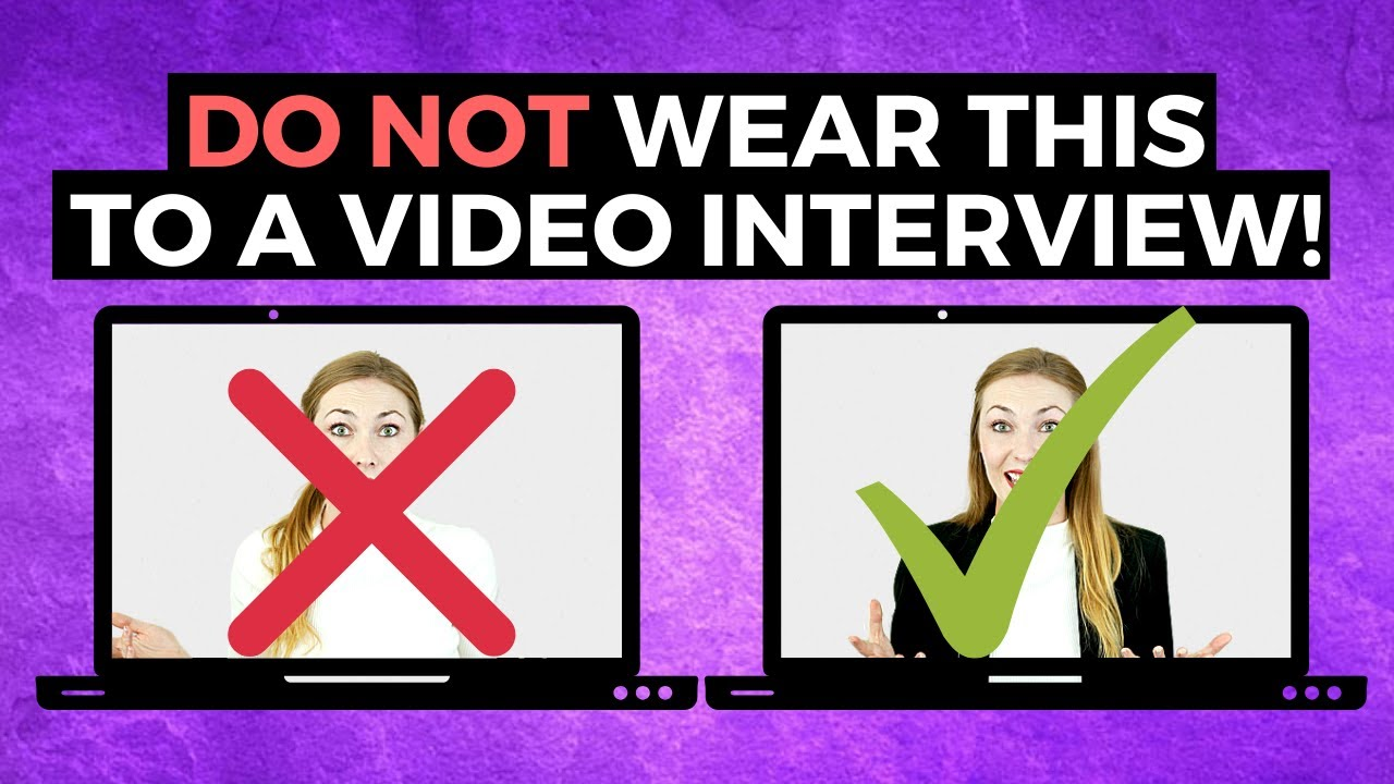 What to Wear for a Video Interview | TOP RATED Attire According to Interviewers