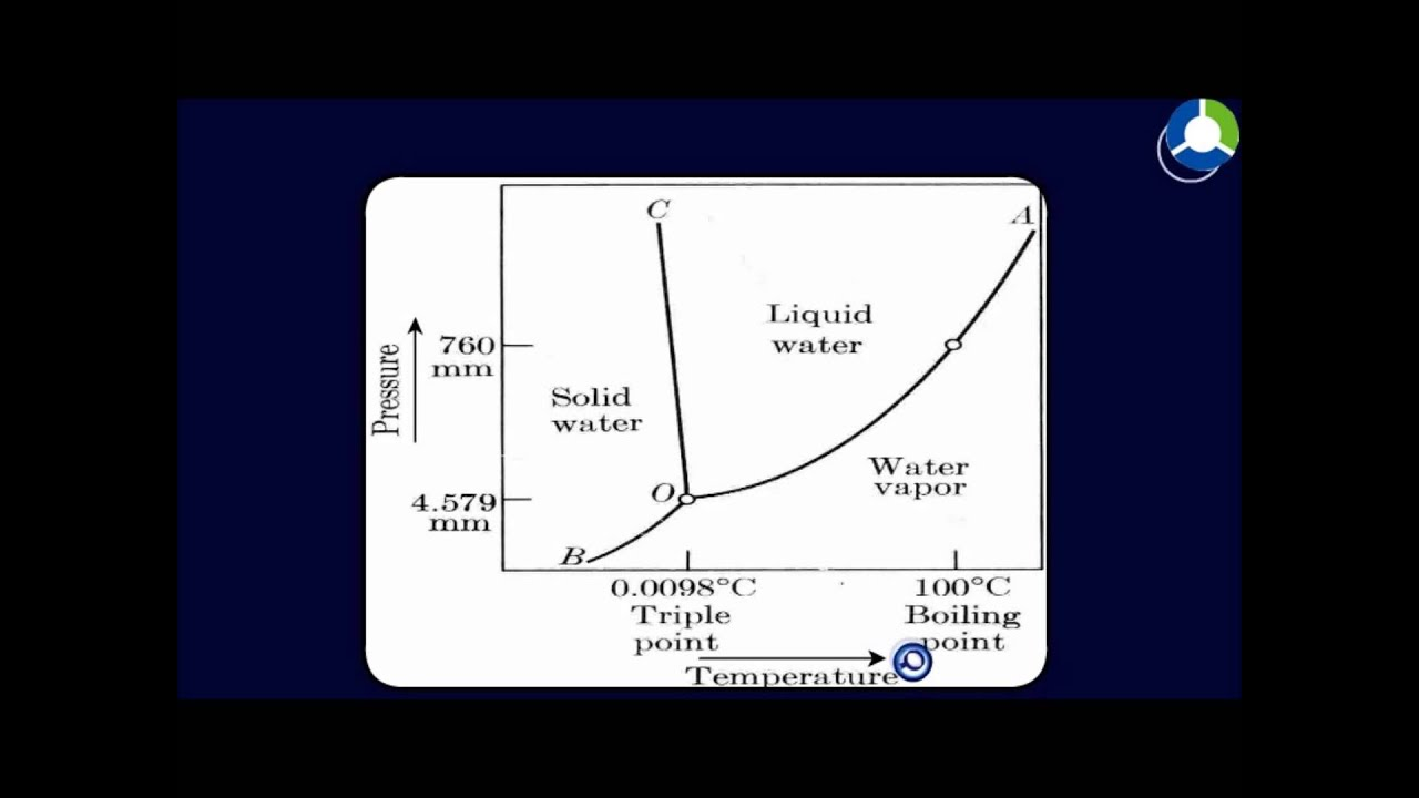 Phase Rule Phase Diagram Of One Component System Youtube
