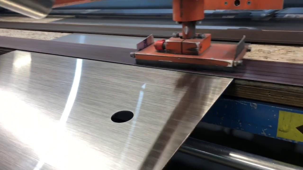 Custom Stainless fabrication graining stainless steel -