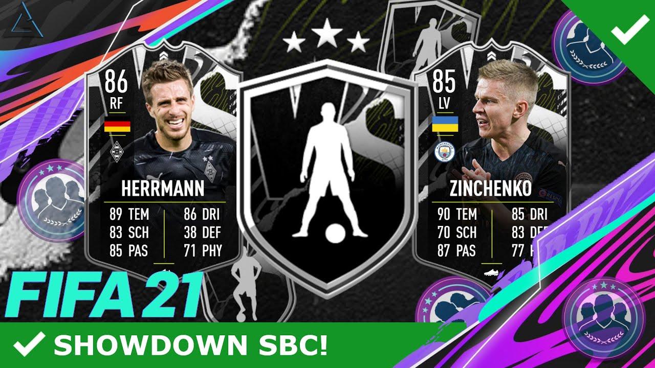 WTF EA! FINGER WEG! 😱❌ HERRMANN & ZINCHENKO SHOWDOWN SBC! UCL-SHOWDOWN  SBC! | FIFA 21 ULTIMATE TEAM - YouTube