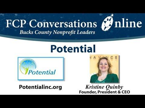 FCP Conversations Online Potential Inc Kristine Quinby Autism Non Profit Video 2018