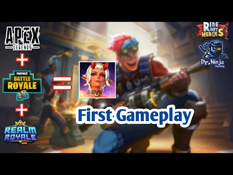 RIDE OUT HEROES - ANDROID BETA GAMEPLAY | Battle Royale Gameplay (BETA TEST) | Android IOS APK