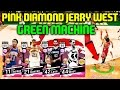 NEW GODSQUAD PINK DIAMOND JERRY WEST! 4 PINK DIAMONDS GAMEPLAY! NBA 2K17 MYTEAM