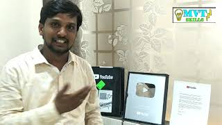Special video for  MVT Subscribers, 1 lakh and above Subscribers.