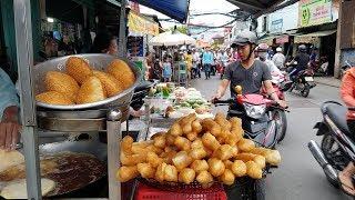 Khám phá phố Bánh tiêu, Bánh bò lớn nhất Sài Gòn