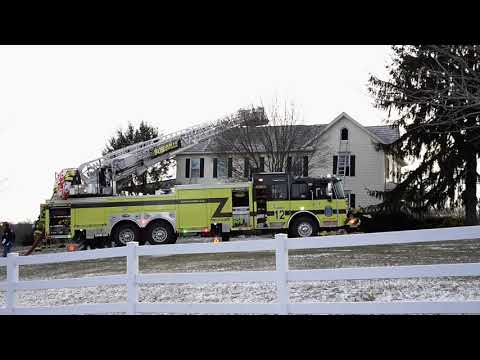 Mount Airy House Fire on Falling Green Way