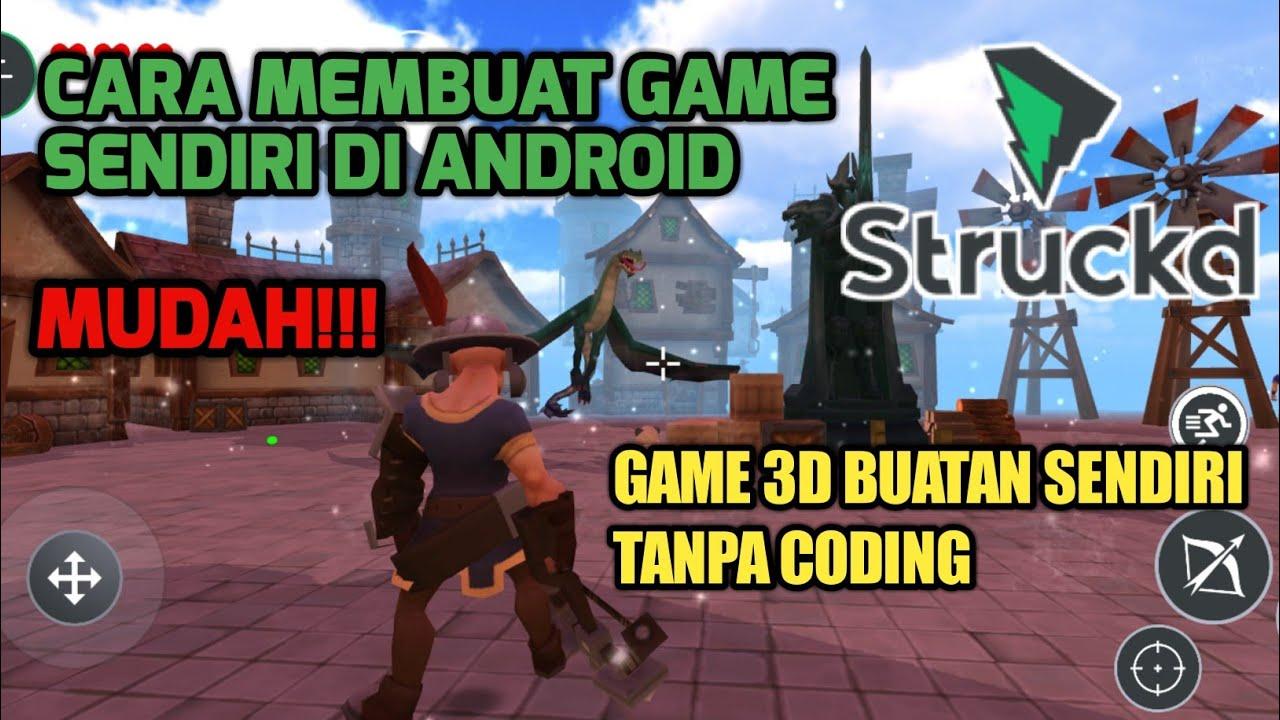 Membuat Game Sendiri Tanpa Coding Dengan Software Ini ...