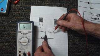 Troubleshooting bad circuits using ohms law.