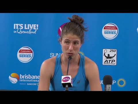 Johanna Konta press conference (QF) | Brisbane International 2018