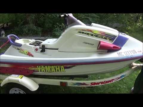 How to use a flush hose kit on 1996 Yamaha Wave Raider Runner 1100 - YouTubeYouTube