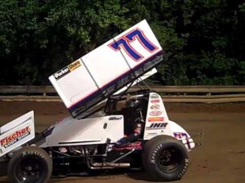 Jesse Hockett last race XX Speedway 5-23-10