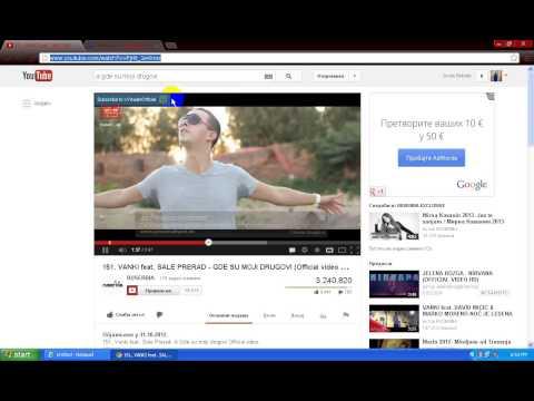 Kako skinuti pesmu sa YouTube u mp3 formatu
