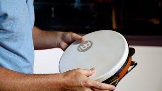 "MEINL Percussion 10"" Pandeiro Shell Tuned Goatskin Head - PA10AB-M"