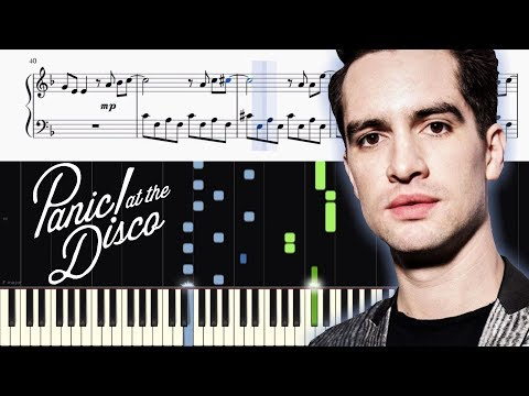 Panic! At The Disco - High Hopes - Piano Tutorial + SHEETS