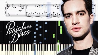 Panic! At The Disco - High Hopes - Piano Tutorial + SHEETS Video