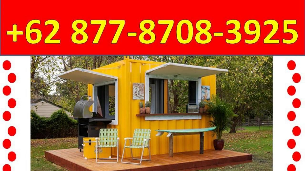 Contoh Desain Rumah Kontainer 0877 8708 3925 Desain Rumah YouTube