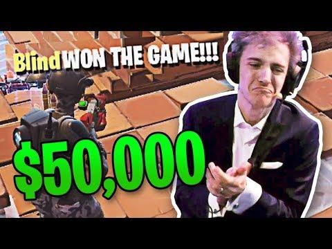 RANDOM KILLS NINJA AND WINS NINJA VEGAS TOURNAMENT! ($50,000) | Fortnite Best Moments #41