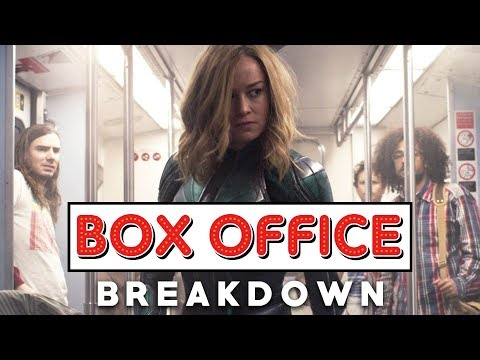 Captain Marvel Fights For Her #1 Spot - Box Office Breakdown (March 17th, 2019)
