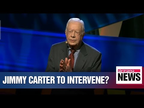 Jimmy Carter willing to visit N. Korea to break nuclear impasse