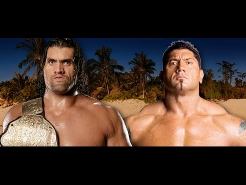 Batista Vs The Great Khali World...