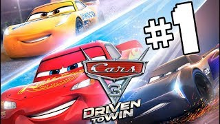 Cars 3 Driven to Win Walkthrough Part 1 LIGHTNING Returns (Nintendo Switch)