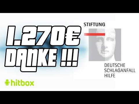 1270 Euro Überweisung - Deutsche Schlaganfall-Hilfe