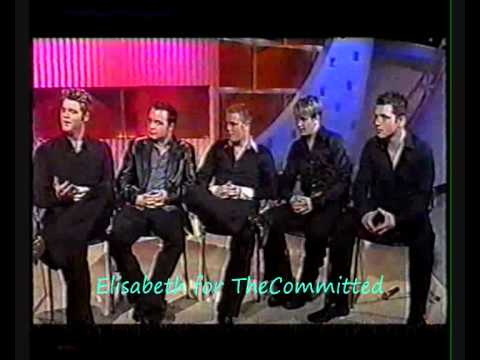 Westlife - Interview - Kelly Show Part 1/2 [12-2001]