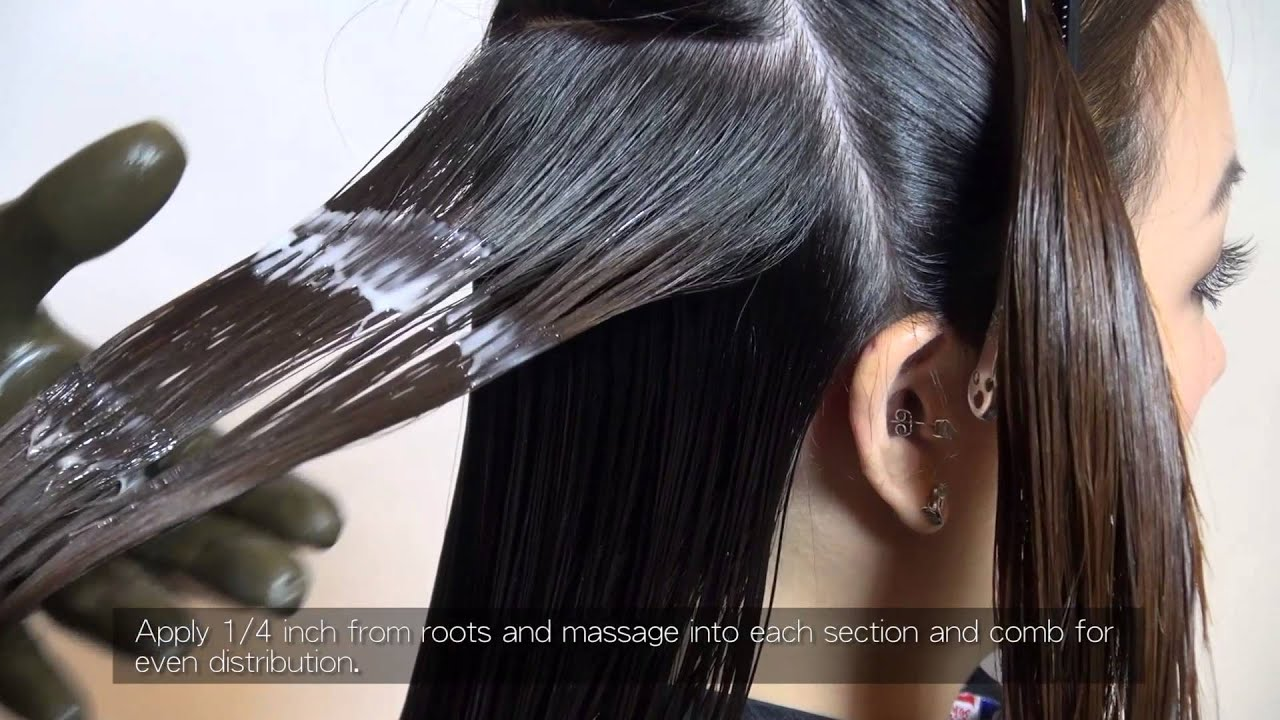 Brazilian Keratin Application Process FULL Version YouTube