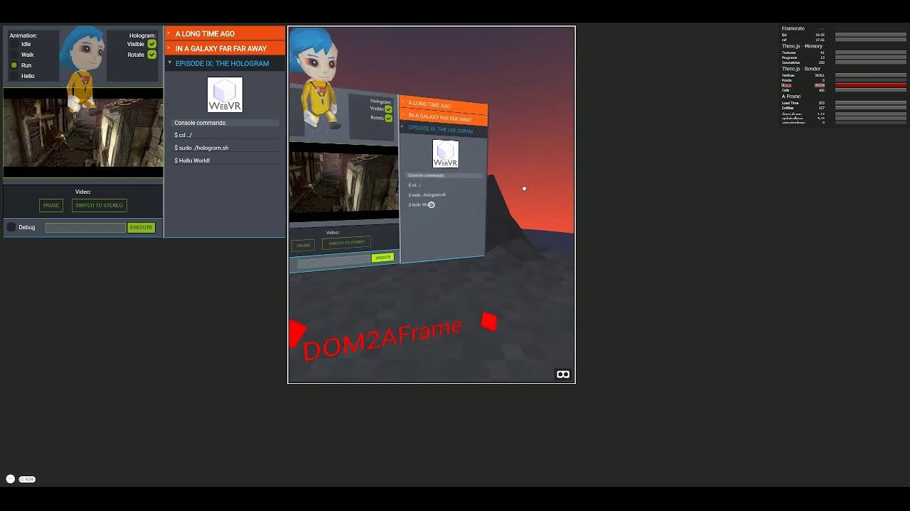 Performance Calendar » DOM2AFrame: Putting the Web back in WebVR
