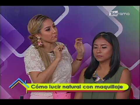 Cómo lucir natural con maquillaje