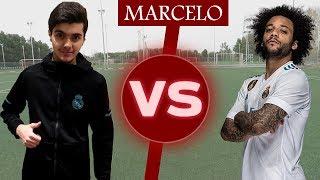 شاب عربي يتحدى مارسيلو فالمهارات!!! | Challenge Vs Marcelo