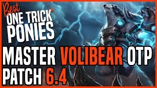 Patch 6.4 Volibear Top OTP - Matchup: Graves - Ranked Master EUW