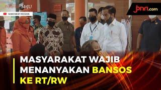 Sederhanakan Prosedur, Jokowi Minta Bansos dan BLT Dibagikan Secepatnya - JPNN.com