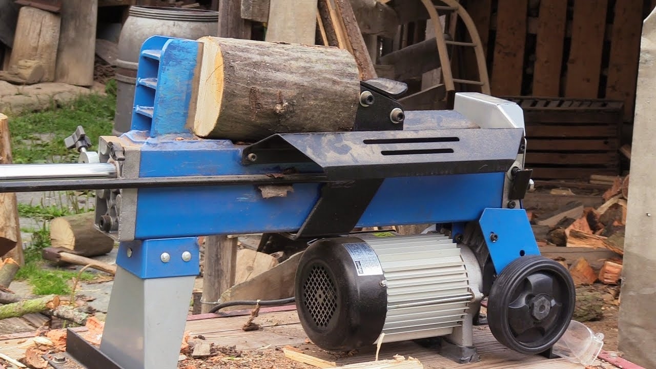 Štípačka na dřevo -test- scheppach hl 450/ 2018/wood splitter - youtube