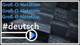 13_Algorithmen&Datenstrukturen || Groß-O-Notation; Groß-Omega-Notation; Groß-Theta-Notation