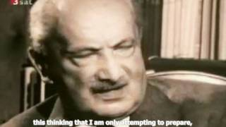 Heidegger: The End of Philosophy and The Task of Thinking (English Subtitles)