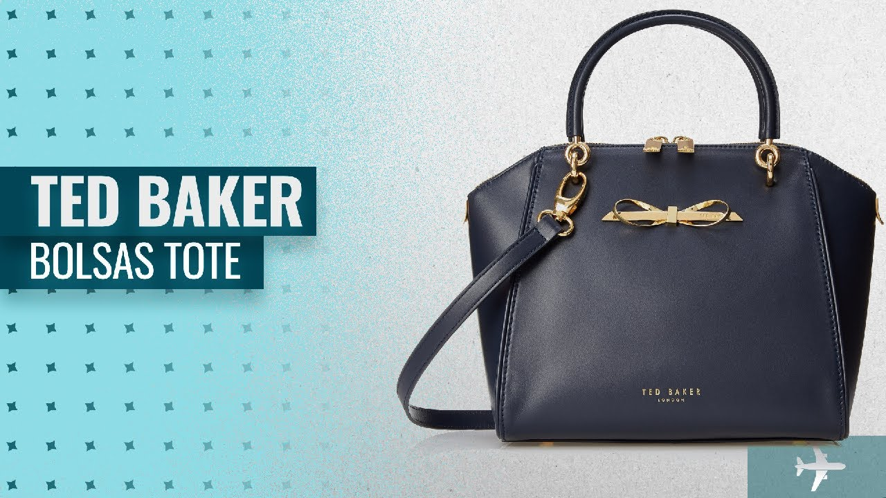 d438d05a7 10 Mejores Ted Baker Bolsas Tote 2018  Ted Baker Lailey Metal Slim ...