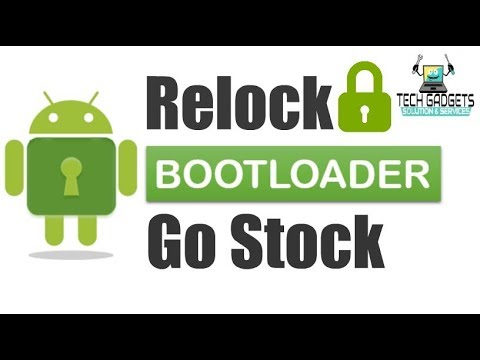 How to Re-lock Bootloader of Android Device