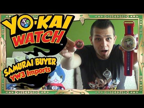 Yo-Kai Watch Toys - Unboxing Yo-Kai Watch Dream, Yo-Kai Mystery File, & MORE From SAMURAI BUYER!