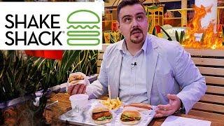 Бургеры от Shake Shack | Американские булочки? Ну ну